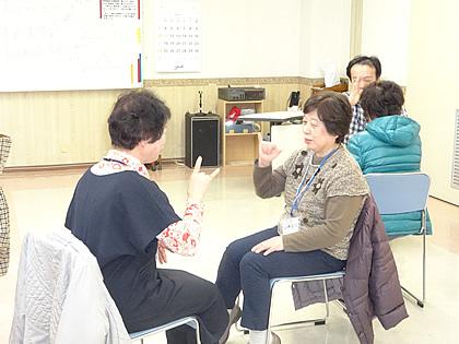 「手話講座」の画像