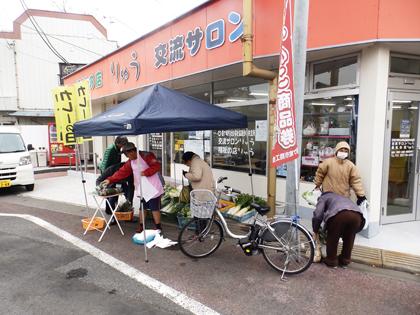 「野菜店頭販売」の画像