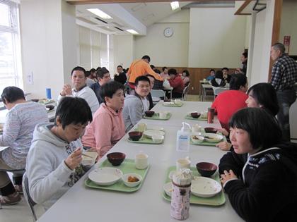 「給食風景」の画像