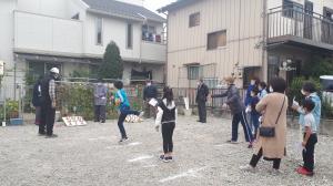輪投げ大会(3)